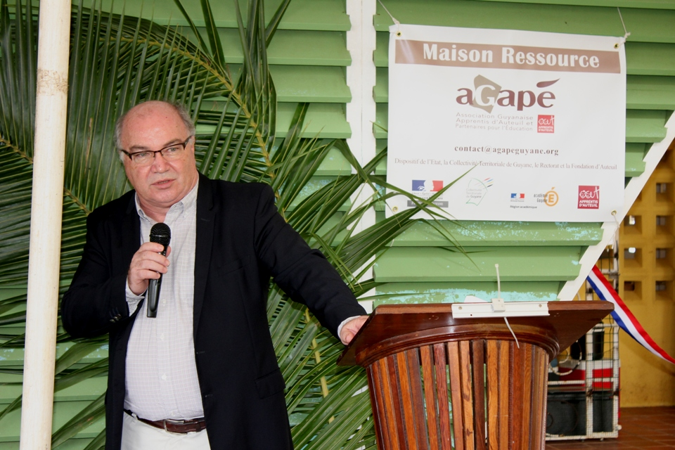 M. Martin JAEGER, Préfet de Guyane