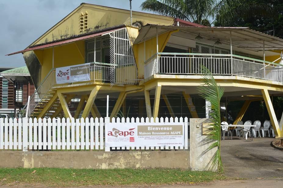 Inauguration Maison Ressource - Vue exterieure
